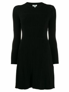 Kenzo openwork knit dress - Black