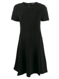 Theory short flared dress - Black