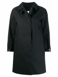Mackintosh Dunoon Bonded Cotton Short Coat - Black
