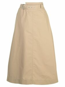3.1 Phillip Lim High Waisted Skirt - Brown
