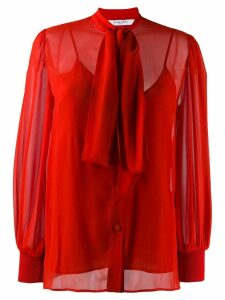 Givenchy pussy-bow blouse - Red