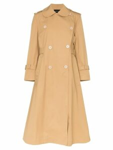 Simone Rocha deconstructed trench coat - Neutrals