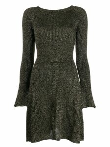 Pinko lurex knit dress - Black