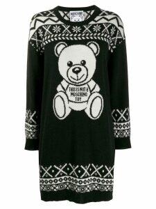 Moschino Teddy Bear sweater dress - Black