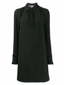 McQ Alexander McQueen ruffled shift dress - Black