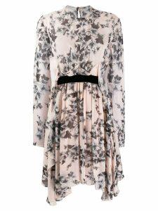 Philosophy Di Lorenzo Serafini floral long-sleeve dress - Pink