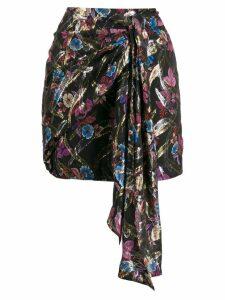 Pinko floral print skirt - Black