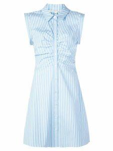 Veronica Beard striped shirt dress - Blue