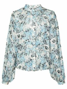 Veronica Beard floral print blouse - Blue
