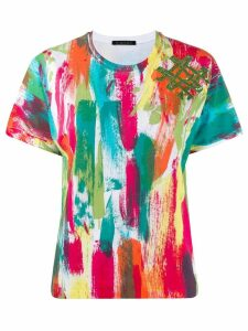 Mr & Mrs Italy abstract print T-shirt - Green
