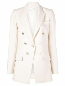 Veronica Beard classic double-breasted blazer - White