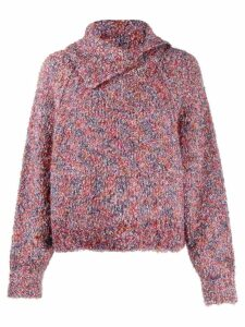 See By Chloé pointed collar jumper - Pink