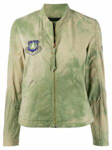 Mr & Mrs Italy faded zip jacket - Green