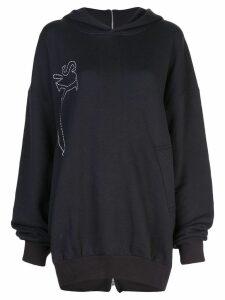 Y's hooded sweatshirt - Grey