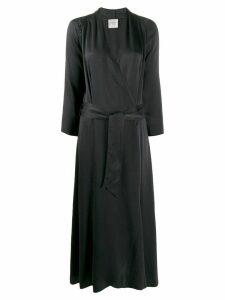 Forte Forte silk wrap dress - Grey