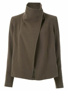 Uma Raquel Davidowicz Marie high neck coat - Brown