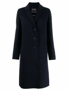 Sport Max Code single breasted overcoat - Blue