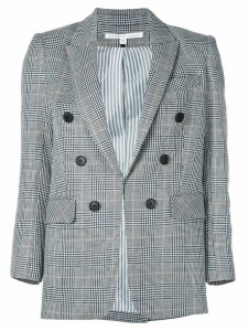 Veronica Beard checked print blazer - Grey