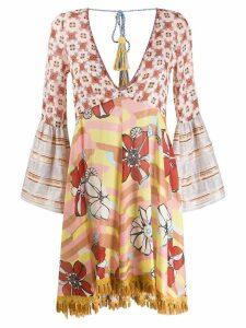 Anjuna Anjuna floral tunic dress - Neutrals