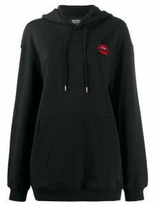 Markus Lupfer lipstick hoodie - Black