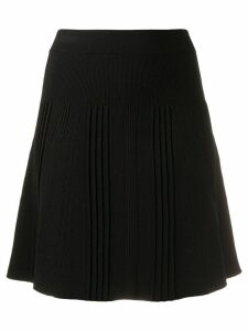 Kenzo knitted A-line skirt - Black