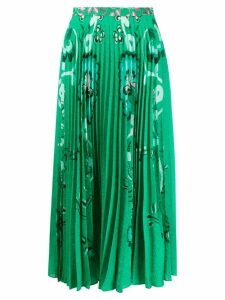 Saloni pleated skirt - Green