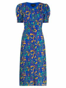 Saloni Lea court dress - Blue