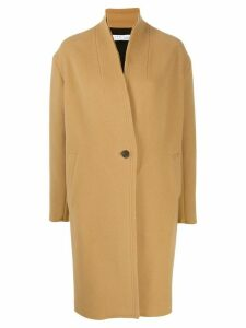 Iro single breasted coat - Neutrals
