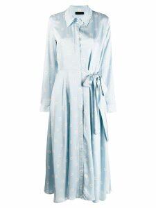 Stine Goya Baily daisy print dress - Blue