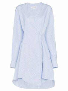 Golden Goose Yuki striped shirt dress - Blue