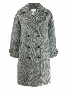 Kenzo double breasted coat - Grey