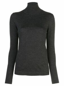 Oscar de la Renta turtleneck jumper - Grey