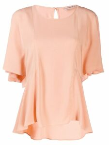 Twin-Set flared sleeve blouse - Pink