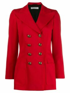 Philosophy Di Lorenzo Serafini fitted double-breasted jacket - Red