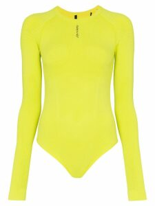 Unravel Project seamless tech bodysuit - Yellow