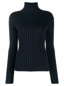 Chloé ribbed roll neck jumper - Blue