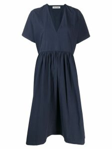 Henrik Vibskov Very flared midi dress - Blue