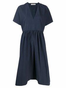 Henrik Vibskov Very flared midi dress - Blue