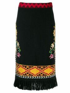 Etro woven skirt - Black