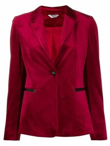 Liu Jo classic fitted blazer - Red