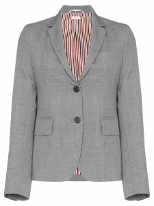 Thom Browne shrunken button-down blazer - Grey