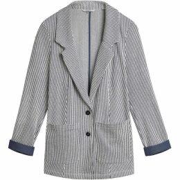Sandwich Seersucker Stripe Jacket