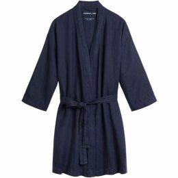 Sandwich Linen Robe Jacket
