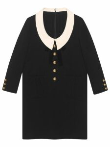Gucci Wool and silk dress - Black