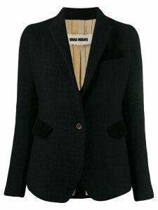 Uma Wang slim-fit blazer - Black