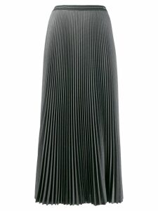 Prada pleated A-line skirt - Grey