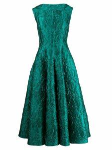 Talbot Runhof Tomini dress - Green