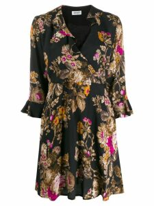 Liu Jo floral shift dress - Black