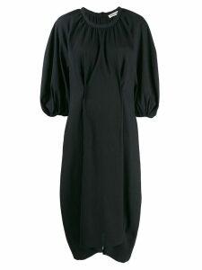 Henrik Vibskov Exhale textured oversized dress - Black