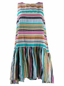Henrik Vibskov Master G striped flared dress - Pink